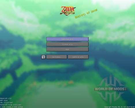 Zelda Minish Cap [16x][1.7.2] для Minecraft