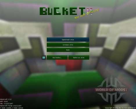 Bucket Respurce [16x][1.7.2] для Minecraft