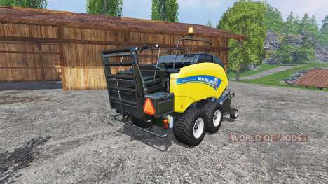 New Holland BigBaller 1290 для Farming Simulator 2015