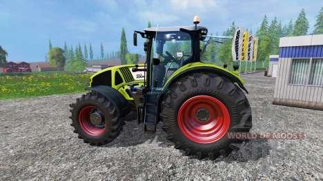 CLAAS Axion 950 v0.5 для Farming Simulator 2015