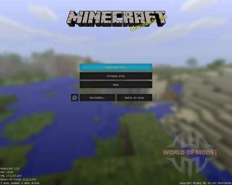 Jammys Texturepack [128x][1.7.2] для Minecraft