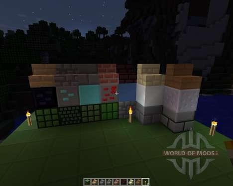 Simple Cubes [16x][1.7.2] для Minecraft