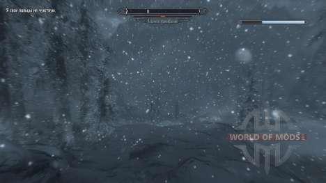 Заморозки - спасение в лагере [2.6] для Skyrim шестой скриншот