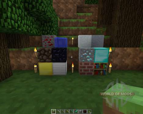 Smoothed Out Resource Pack [16x][1.7.2] для Minecraft