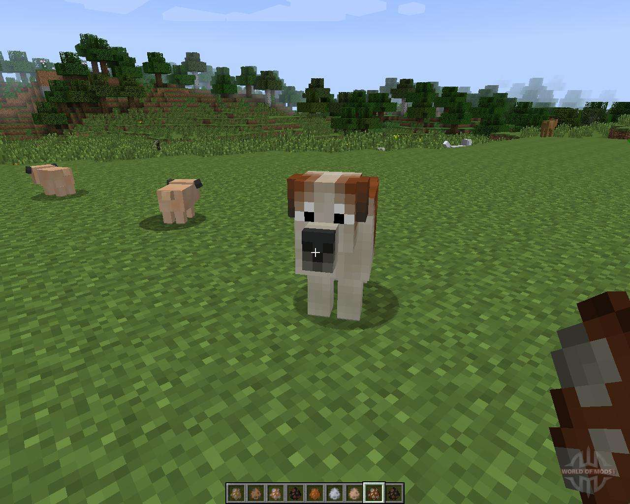 Моды на меню собак майнкрафт 1.7.2