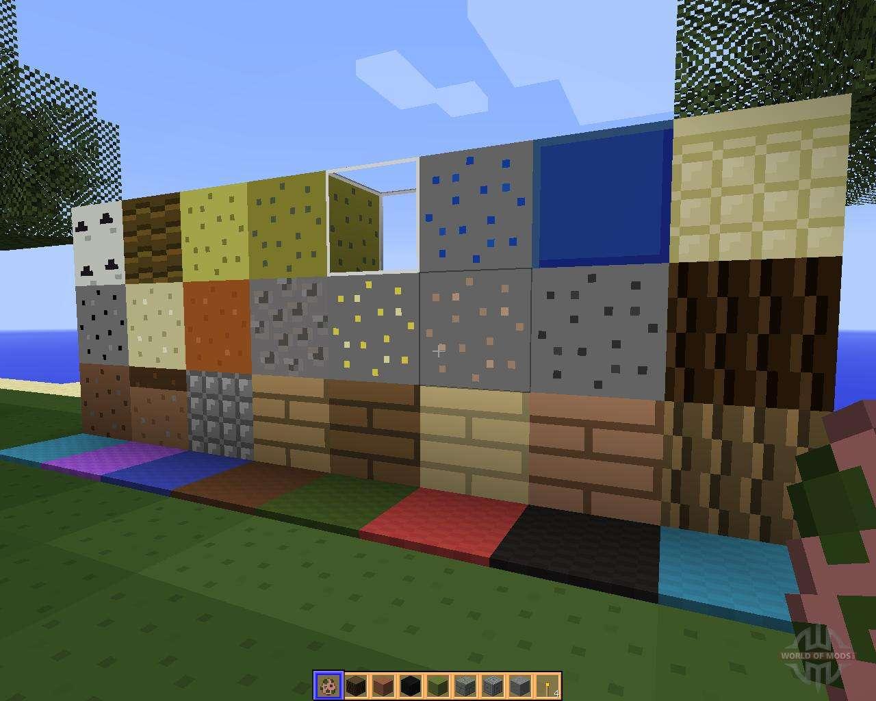 3д текстуры для майнкрафт 1.7.2 #11
