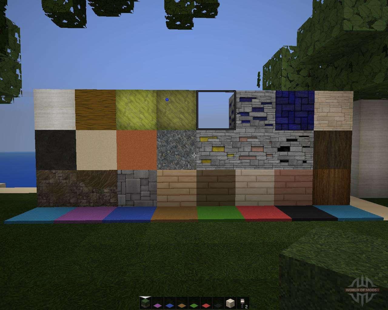 скачать текстур паки стиля модерн для minecraft 1 8
