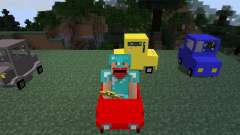 Cars and Drives [1.7.2] для Minecraft