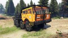 Tatra 813 KOLOS 8x8 для Spin Tires