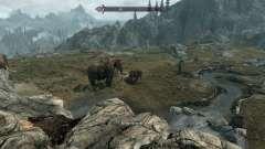 Реалистичные животные и хищники [1.38] для Skyrim