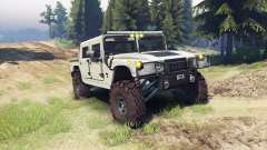 Hummer H1 army tan для Spin Tires
