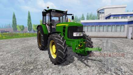 John Deere 6830 Premium FrontLoader для Farming Simulator 2015