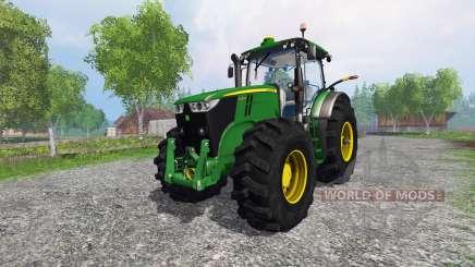 John Deere 7200R forest для Farming Simulator 2015