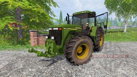 John Deere 8410 v1.2 для Farming Simulator 2015