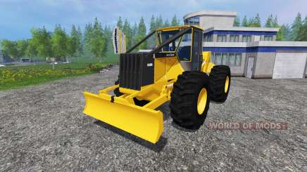 John Deere 648G v1.1 для Farming Simulator 2015