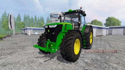 John Deere 7290R and 8370R для Farming Simulator 2015