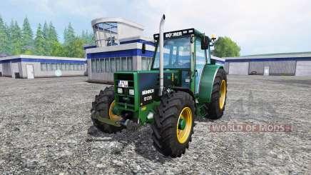 Buhrer 6135A Black Beauty для Farming Simulator 2015