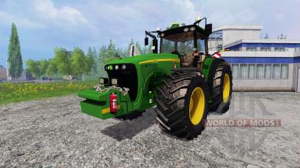 John Deere 8520 [plowing] для Farming Simulator 2015