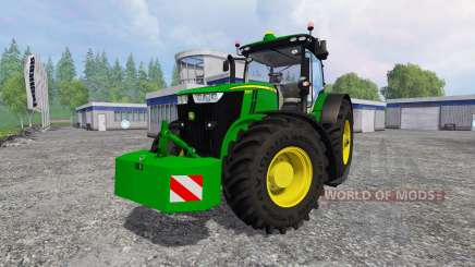 John Deere 7290R для Farming Simulator 2015