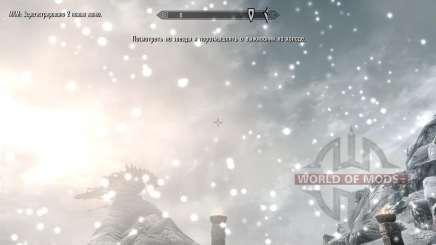 Заморозки - спасение в лагере [2.6] для Skyrim