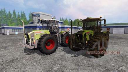 CLAAS Xerion 3800 Trac VC [clean and dirty] для Farming Simulator 2015