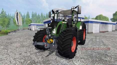 Fendt 724 Vario SCR v3.0 для Farming Simulator 2015
