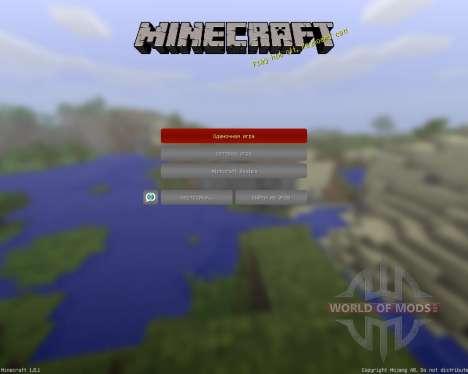 MC-War Official Resource Pack [32x][1.8.1] для Minecraft