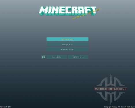 High Tech GUI Pack [16x][1.8.8] для Minecraft