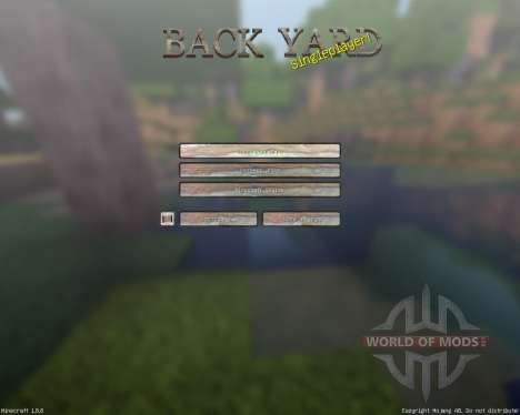 BackyardCraft [128x][1.8.8] для Minecraft