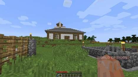 Tudor Mansion [1.8][1.8.8] для Minecraft