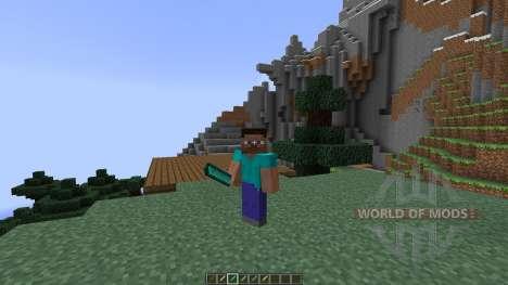 Machetes [1.7.2] для Minecraft
