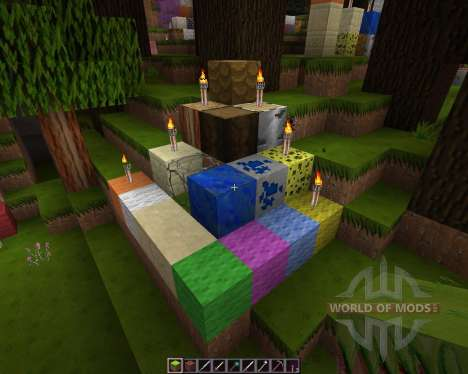 Sketch Hand Drawn HD Resource Pack [128x][1.8.8] для Minecraft