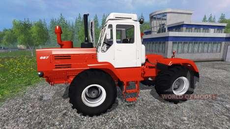 Т-150К красный для Farming Simulator 2015