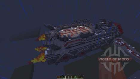 SpaceShip [1.8][1.8.8] для Minecraft