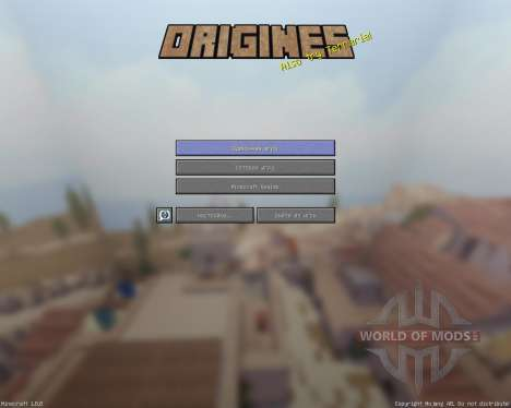 Origines of Rome [32x][1.8.8] для Minecraft