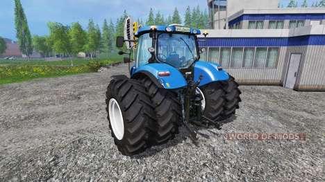 New Holland T6.175 twin wheels для Farming Simulator 2015