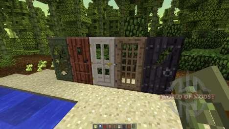 Doors O Plenty [1.7.10] для Minecraft