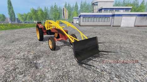 Fortschritt GT 124 frontlader fix для Farming Simulator 2015