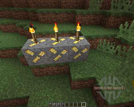 Realistic Ores [16x][1.8.8] для Minecraft