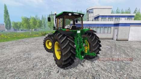 John Deere 8330 v2.1 для Farming Simulator 2015
