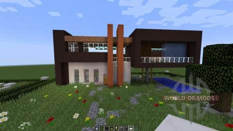 Slandot Modern House [1.8][1.8.8] для Minecraft