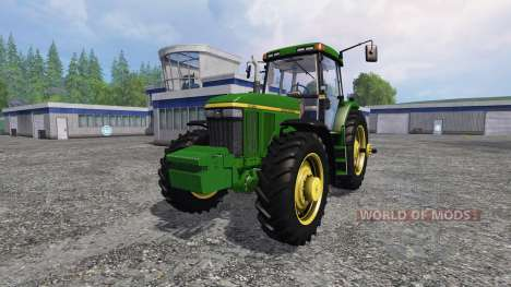 John Deere 7810 v1.1 для Farming Simulator 2015