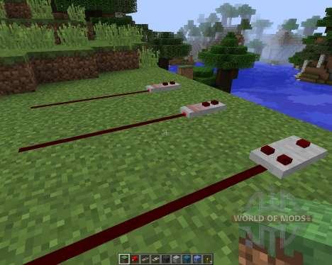 Redstone 2.0 [16x][1.8.1] для Minecraft