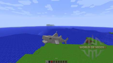 Shark Simulator in Vanilla Minecraft[1.8][1.8.8] для Minecraft