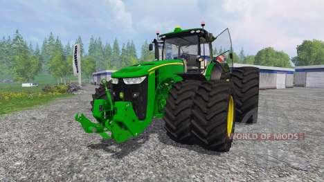 John Deere 7290R and 8370R v1.0b для Farming Simulator 2015