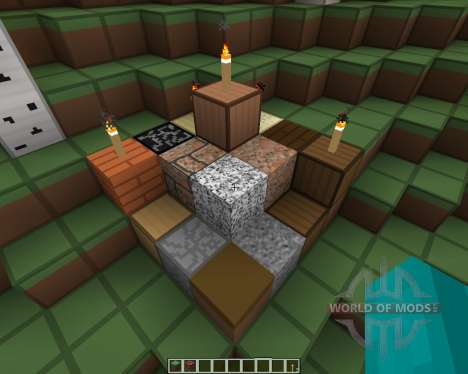 SmoothSta Emitting Light Resource Pack [16x][1.8 для Minecraft