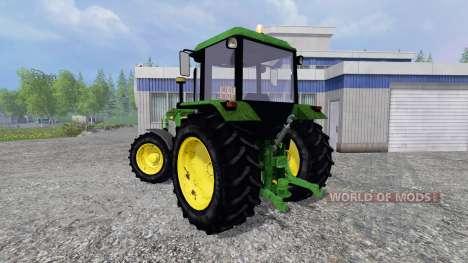John Deere 3650 FL для Farming Simulator 2015