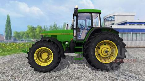 John Deere 7810 v3.0 для Farming Simulator 2015