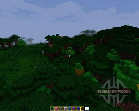 Lost Loki Texture pack [16x][1.8.8] для Minecraft