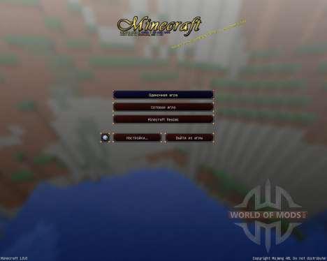 Glendale 3D Blocks Resource Pack [32x][1.8.8] для Minecraft